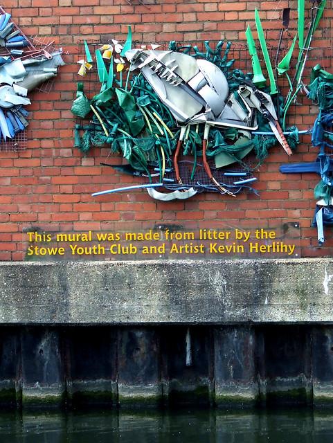 Herlihy litter mural