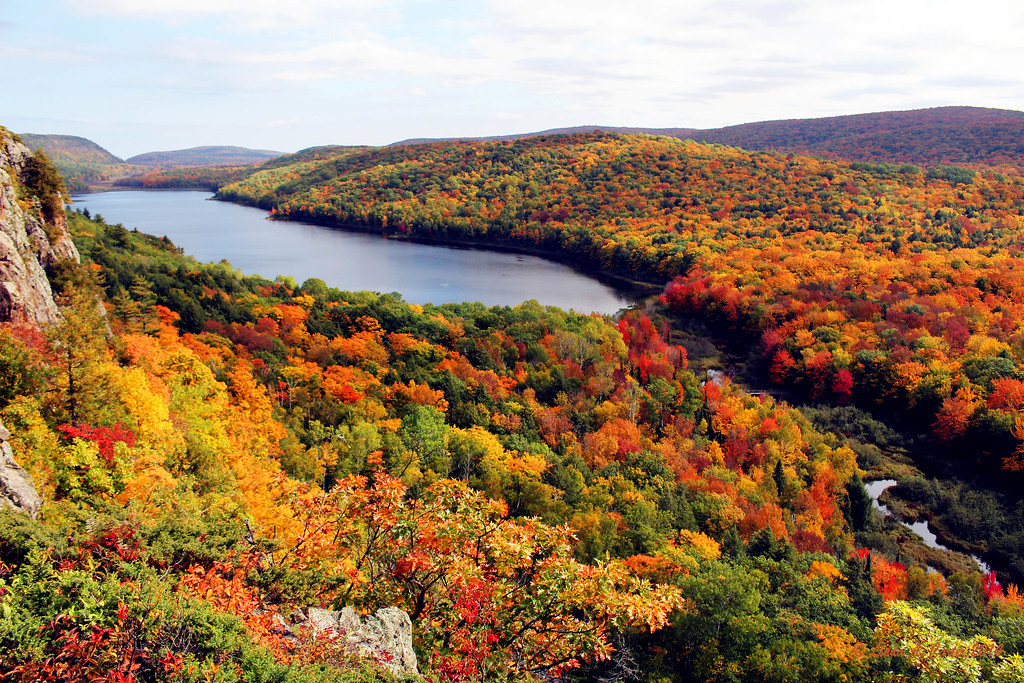 Lake In The Clouds, Porcupine Mountains Wilderness State P