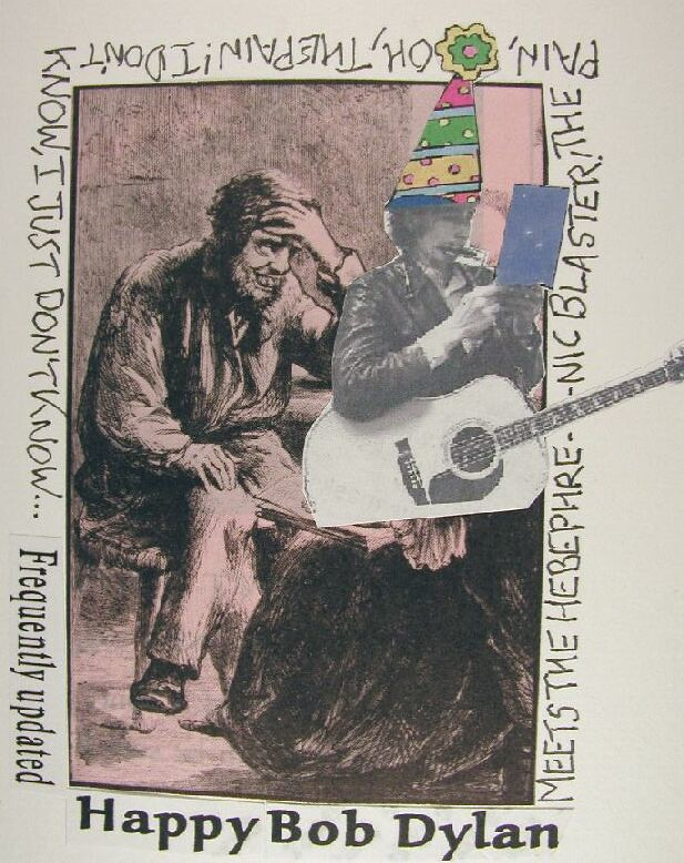 Rudi Rubberoid Post Card For The Happy 64th Birthday Bob Flickr