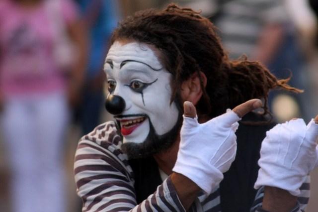 Mime in Guanajuato Mexico