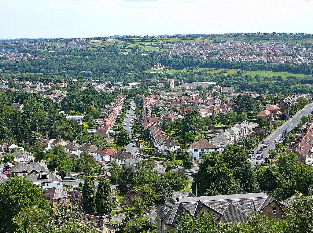 View from Baildon Bank | Tim Green | Flickr