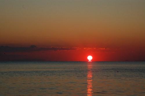 Sunset over the Marmara Sea