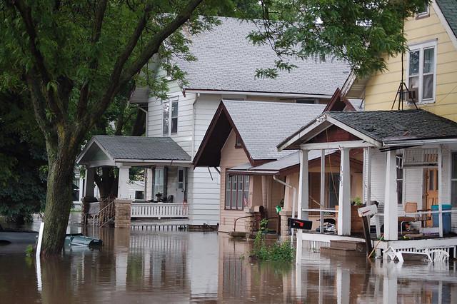 Flooding in Cedar Rapids, IA
