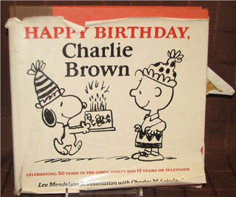 Happy Birthday Charlie Brown I Was Obsessed With This Book Flickr