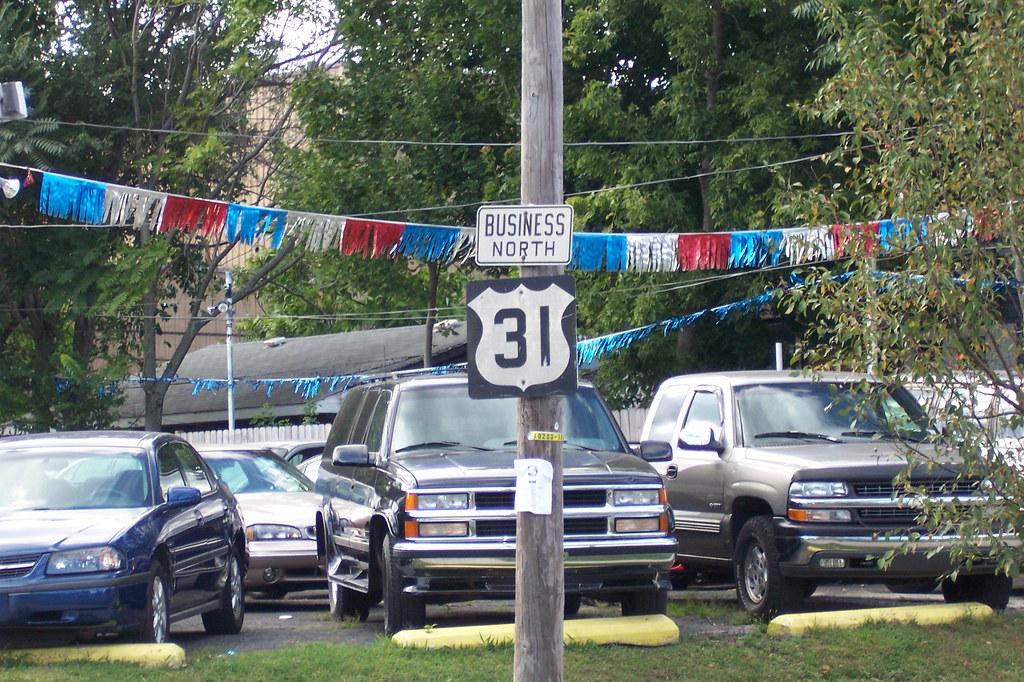 Funky US 31 shield