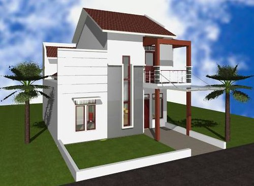 Rumah Kecil Sebuah Rumah Kecil Bergaya Minimalis Modern Mi Flickr
