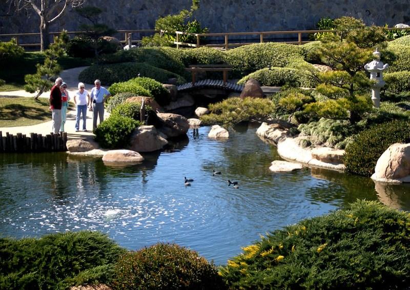 Japanese Garden Visitors