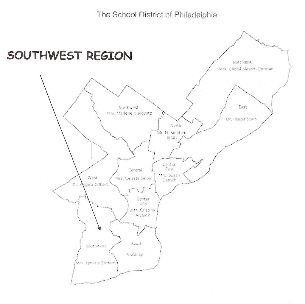 Southwest Region Map