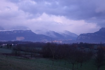 Approaching Grenoble   France   Cycling Europe