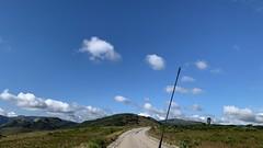 Driving through Nyanga National Park