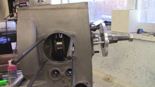 CLICK TO GO TO VIDEO: Oil The Face Of The Inside Thrust Washer