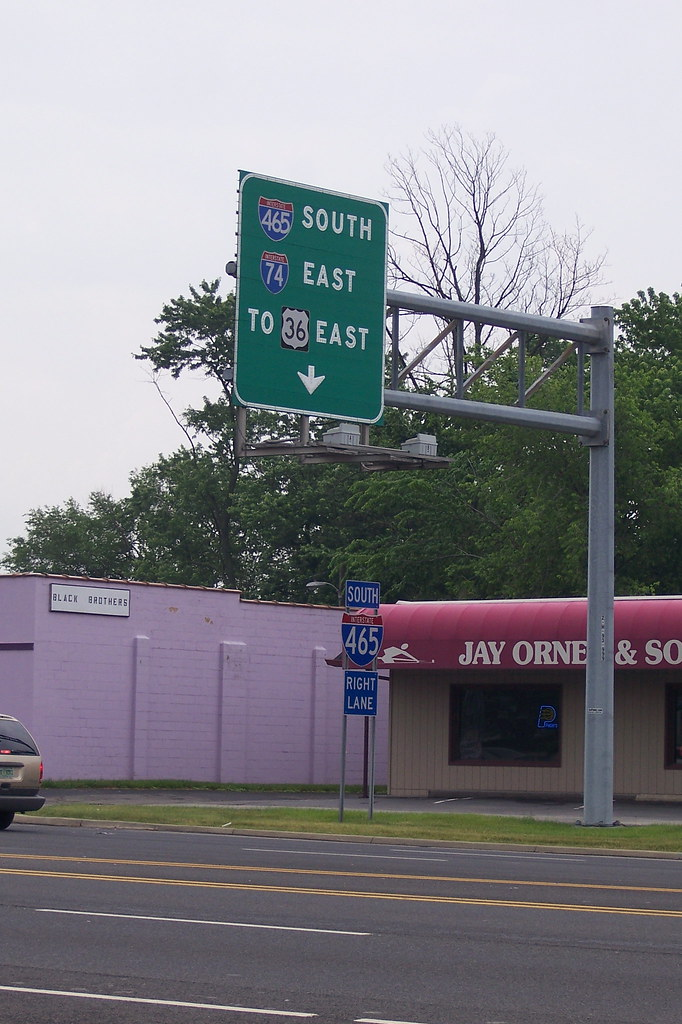 US 36, Indianapolis