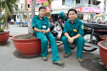 Touristen-Security