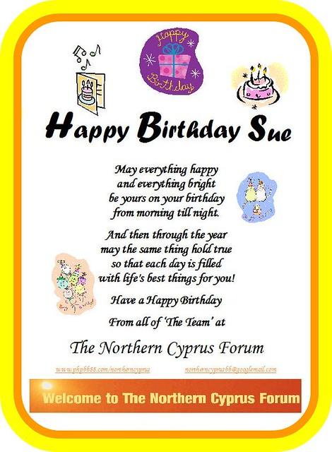 Happy Birthday Sue 19 March Marsdencuckoo Flickr