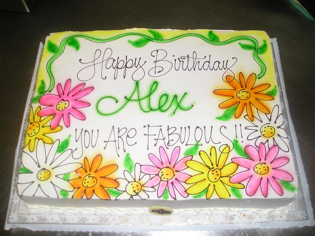 Happy Birthday Alex Airbrush Www Josefsvienna Com Marisa Hess Flickr