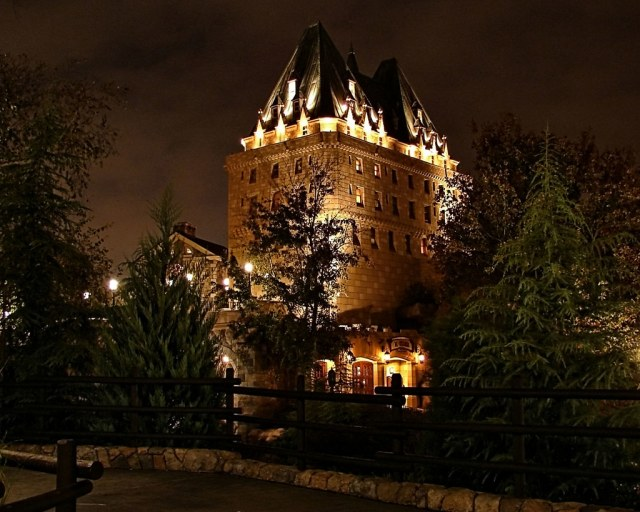 Disney - Canada at Night
