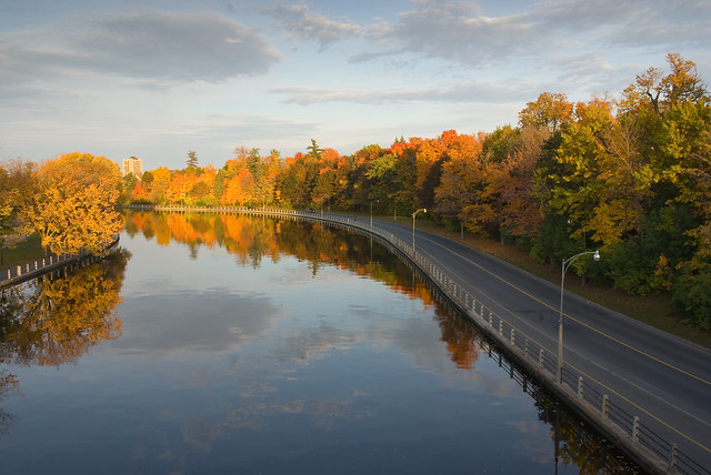 Rideau Canal 1 at Sunset 2008