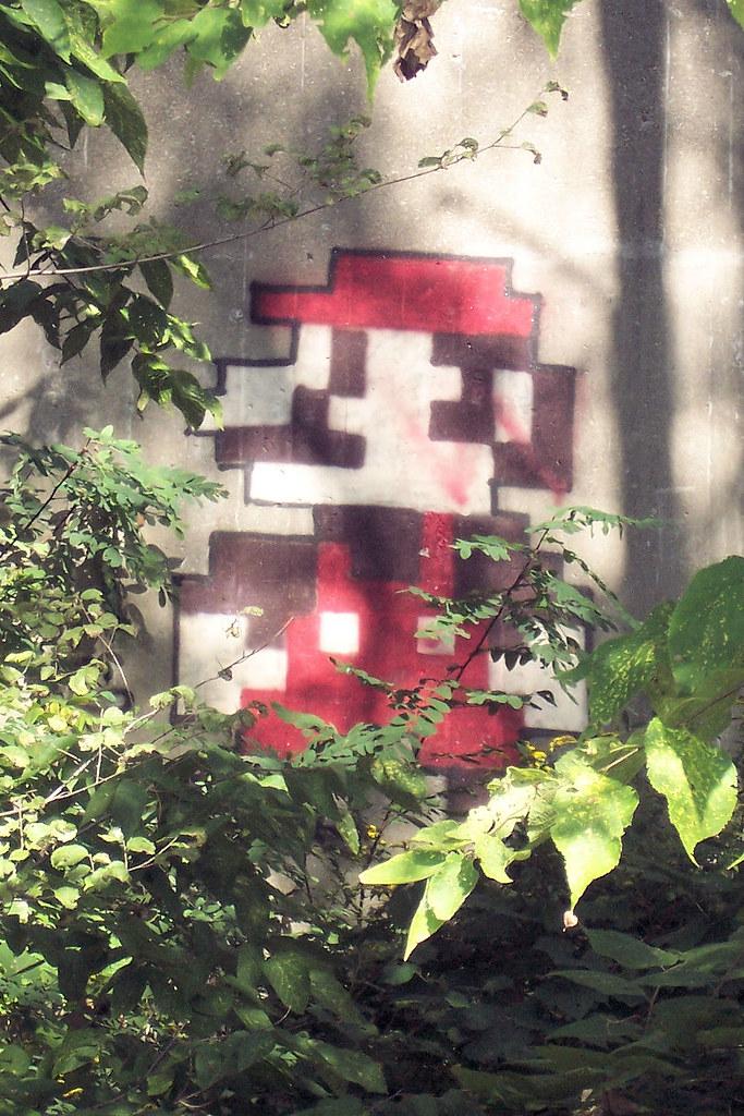Mario on the Twyckenham Dr. bridge