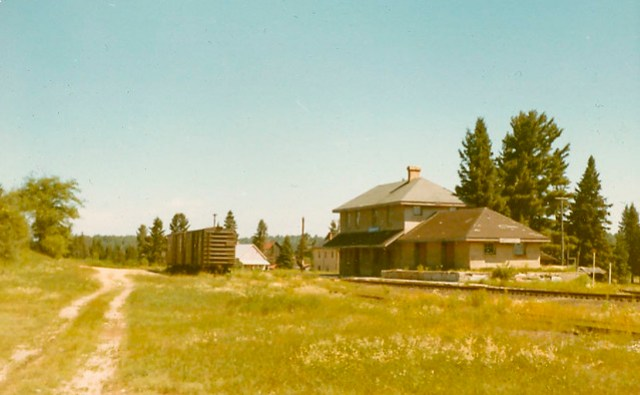 Maynooth Station, Ontario. 1971