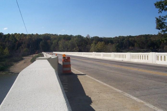 Bridge over Cagles Mill Lake