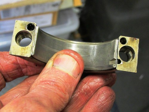 Right Rod Bearing Cap With Holes (From 1977 R100RS)
