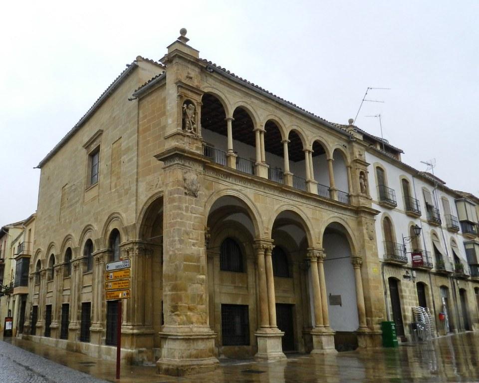 Antiguas Casas Consistoriales Plaza Primero de Mayo Ubeda Jaen 11