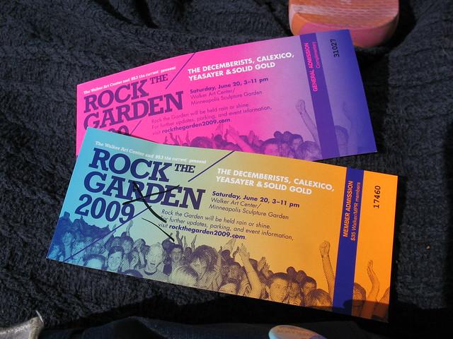 @ rock the garden