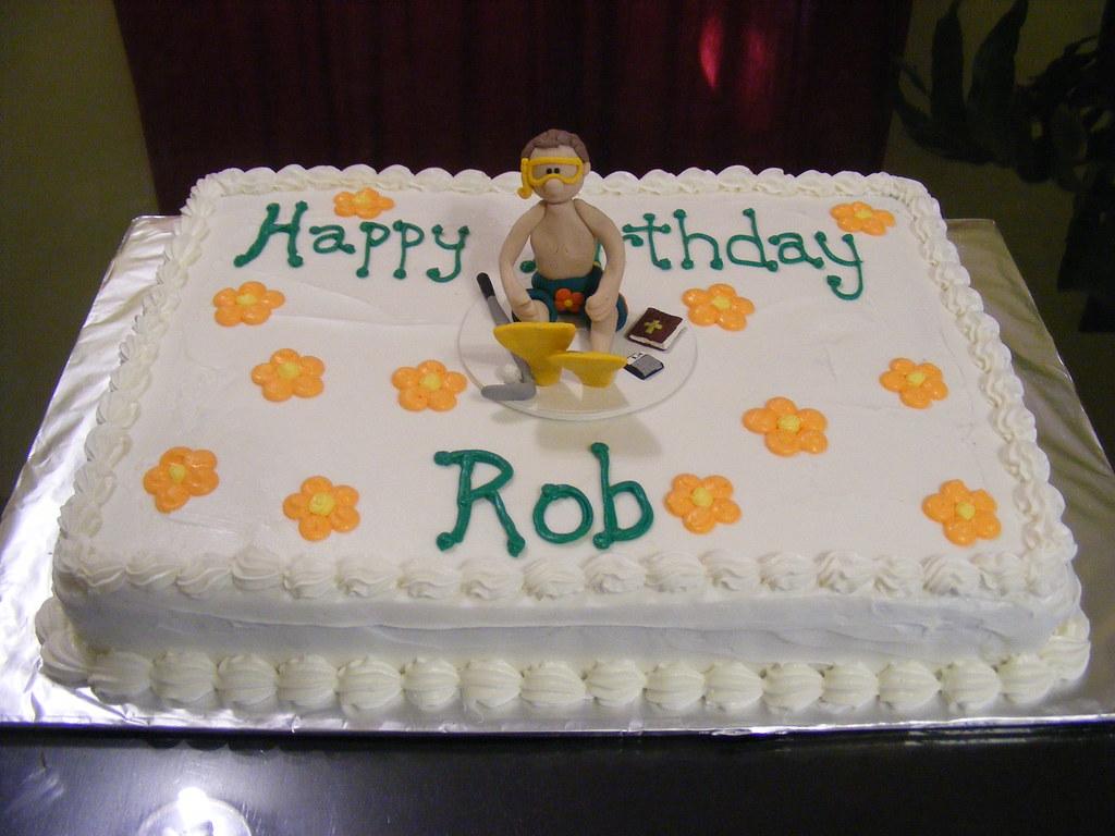 Rob Birthday Cake No I Haven T Gone Crazy Making A Flower Flickr
