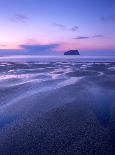 Bass Rock at Dusk II