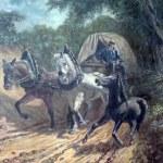 Horse Drawn Wagon A Painting Of A Horse Drawn Wagon By W Sean Flickr