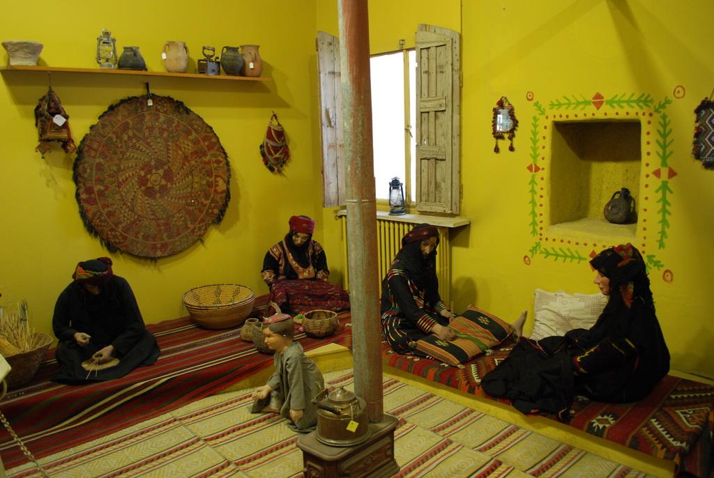 General View Shows Hall Jordan Folklore Museum Editorial Stock