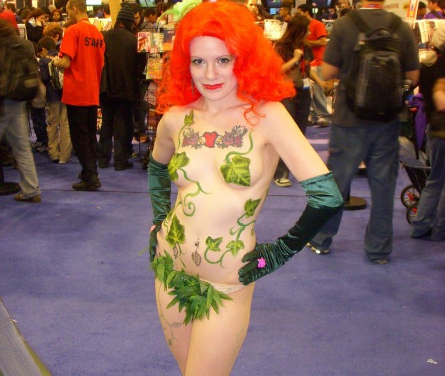 Poison Ivy Naked Excalipoor Flickr