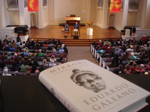 Eduardo Galeano reads from MIRRORS