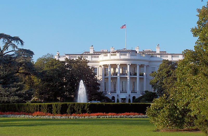 The White House, 1600 Pennsylvania Avenue; Washington DC