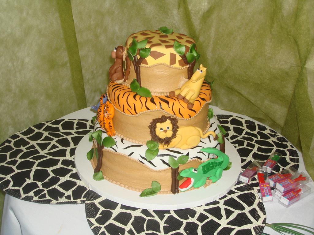 Animal Safari Birthday Party Unfortunatley I Was Not Crea Flickr