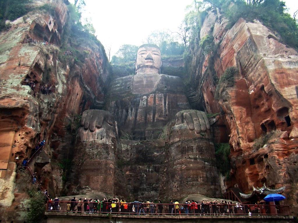 El gran Buda de Leshan-China Patrimonio de la Humanidad Unesco  05