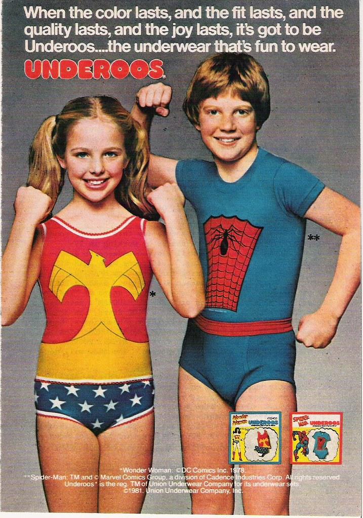 1980s Boys Underwear Se
