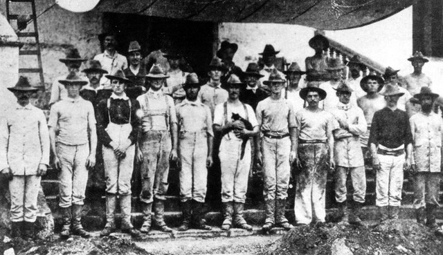 First US Marines on Guam, 1899