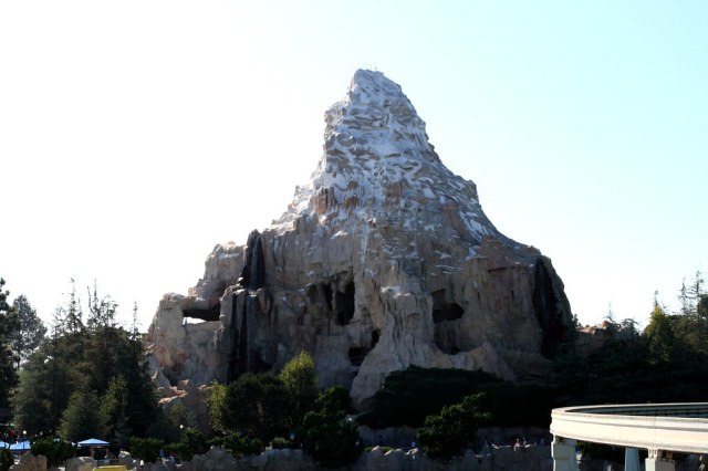 The Matterhorn at Disneyland   Another shot of the Matterhor…   Flickr