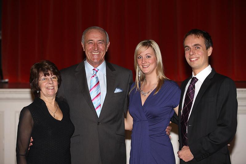 Shirley, Paul, Amy & Len