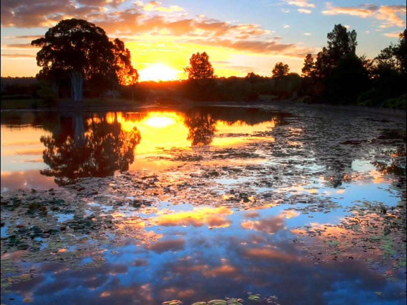 sippy lake 3 Sunset 4
