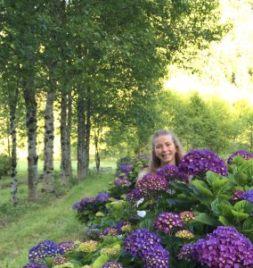 Nina at Hydrangea Ranch