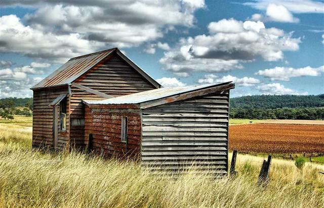 Abandoned farm house.