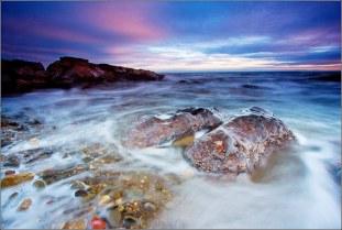 Pink Skies, Pink Rocks - Bwlch Gwyn