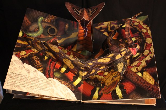 Pop-up Book of Phobias | If you aren't afraid of snakes you … | Flickr