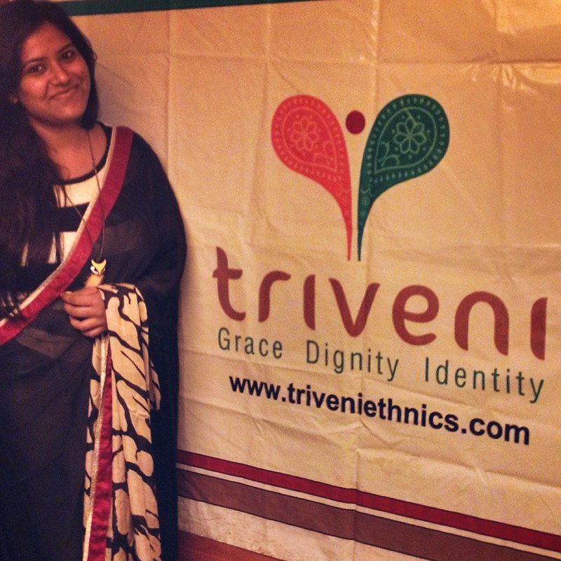 Triveni Saree bloggers meet