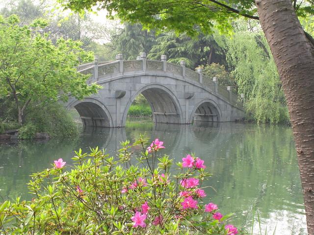 Bridge at Xili Lake
