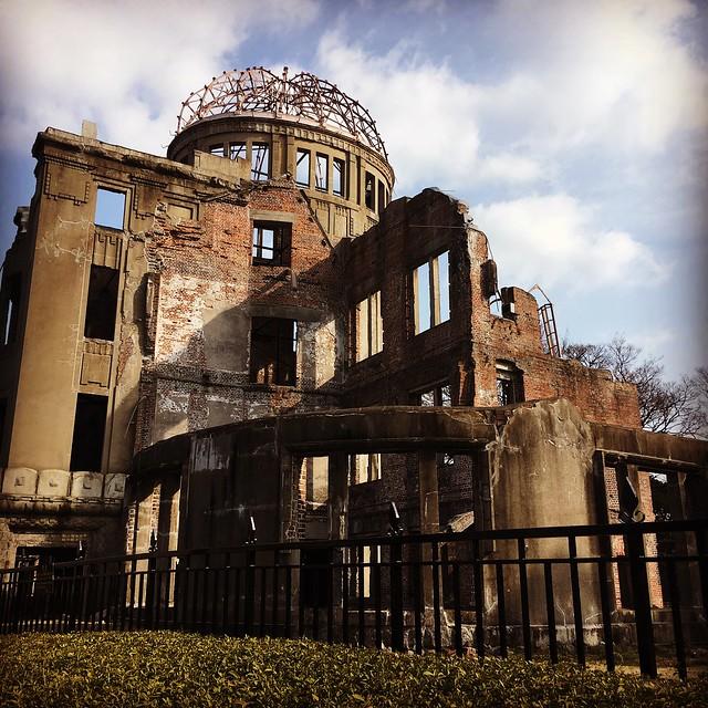 Atomic Bomb Dome at Hiroshima Peace Memorial