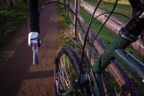 Surly Disc Trucker: Shifters