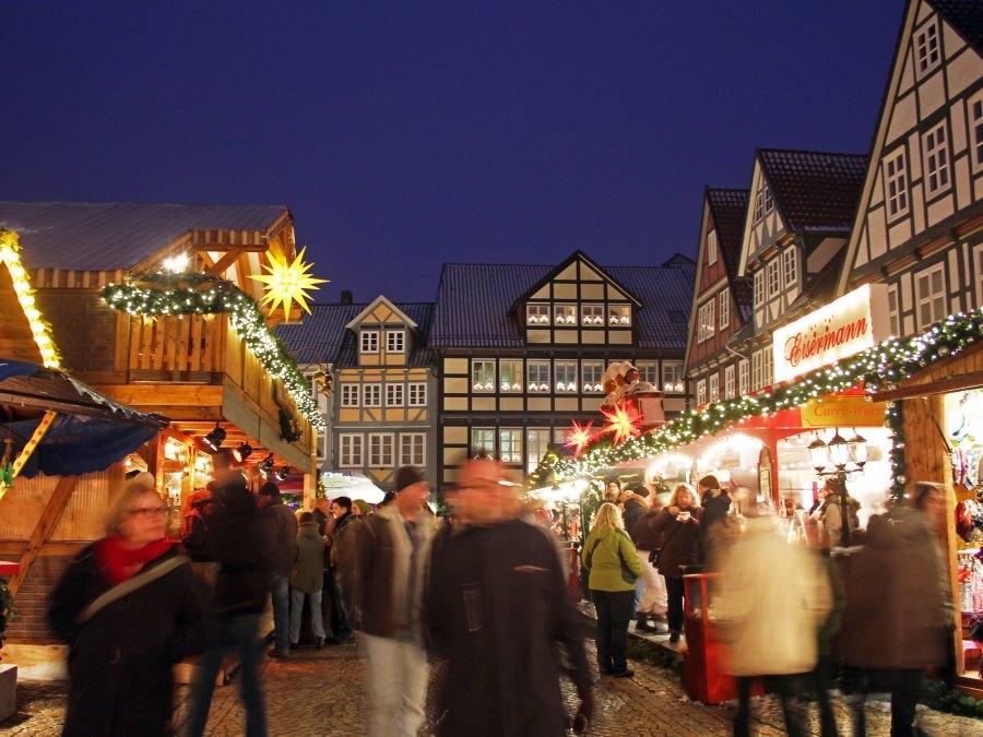 Gezellige kerstmarkten Noord-Duitsland - Celle | foto Celle Tourismus und Marketing GmbH